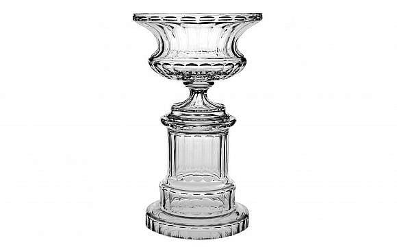William Yeoward Crystal Ottoline Footed Centrepiece & Pedestal